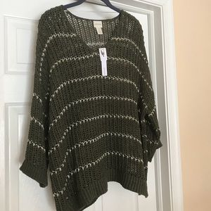 NWT Adorable Ladies Chico's Pullover Top, Size 16w